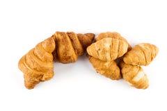Cierre fresco del croissant para arriba imagen de archivo