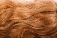 Cierre goldy de la peluca de las mujeres para arriba imagenes de archivo