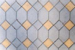 Cierre gráfico del piso de la pared del recurso de la textura para arriba fotos de archivo