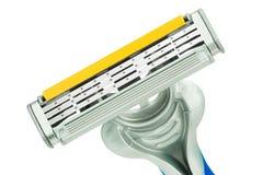 Cierre gris de la máquina de afeitar para arriba Fotos de archivo libres de regalías