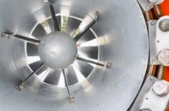 Cierre interior del ventilador del arma de la nieve para arriba Imagenes de archivo