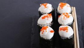Cierre japonés tradicional de la comida para arriba Imagen de archivo