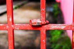 Cierre la puerta Imagen de archivo libre de regalías