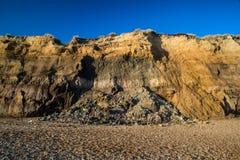 Cierre mesozoico del paisaje de la roca de la imagen geológica del detalle para arriba fotos de archivo libres de regalías