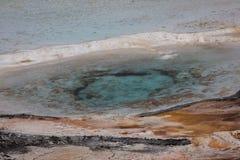 Cierre mineral caliente de la piscina para arriba Foto de archivo
