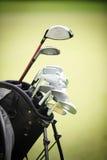 Cierre para arriba del club de golf Fotografía de archivo