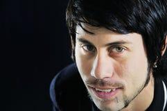 Cierre para arriba del hombre hispánico joven Fotografía de archivo