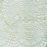 Cierre peruano tailandés de la superficie de la manta del estilo para arriba Más de este adorno y de más materias textiles en mi  Fotografía de archivo