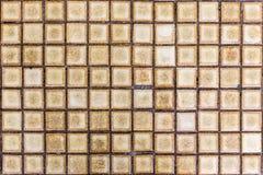 Cierre retro del mosaico del estilo encima de la textura fotos de archivo libres de regalías