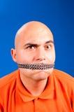 Cierre su boca Foto de archivo libre de regalías