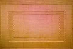 Cierre tejido de la estera de la textura Fotografía de archivo libre de regalías