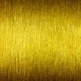 Cierre texturizado de oro del fondo para arriba Imagen de archivo