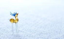 Ciervos de cristal en fondo ligero Fotos de archivo libres de regalías