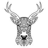 Ciervos del blanco de la fantasía Imagen de archivo libre de regalías