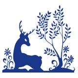 Ciervos del bosque Fotografía de archivo libre de regalías