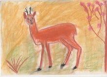 Ciervos del dibujo Foto de archivo