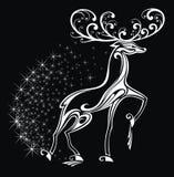 Ciervos estilizados Imagenes de archivo