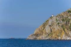 Cies海岛蓬特韦德拉,西班牙 免版税库存照片