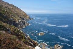 Cies öar, Vigo, Spanien Fotografering för Bildbyråer