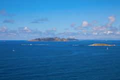 Cies islands Stock Images