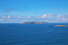 Cies islands Royalty Free Stock Images