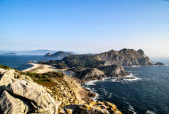 Cies islands Stock Photo
