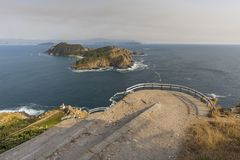 Cies Islands Pontevedra, Spain. Cies Islands, small islands located in Pontevedra, Spain Royalty Free Stock Image
