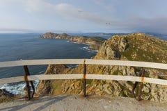 Cies Islands Pontevedra, Spain. Cies Islands, small islands located in Pontevedra, Spain Royalty Free Stock Photo