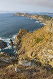 Cies Islands Pontevedra, Spain. Cies Islands, small islands located in Pontevedra, Spain Stock Image