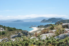 Cies Islands Stock Images