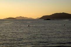 Cies wyspy Zdjęcie Stock