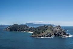 Cies wyspy Obraz Royalty Free