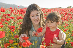 Cieszyć się jeden dzień z kwiatami Obrazy Royalty Free