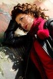 cieszyć się młode kobiety słońce fotografia stock