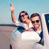 Cieszyć się wycieczkę samochodową Fotografia Royalty Free