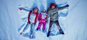 Cieszyć się zima dzień Zdjęcia Stock