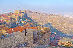 Cieszy się Ankara pejzaż miejskiego zdjęcia royalty free