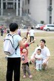 Cieszy się rodziny zdjęcie royalty free