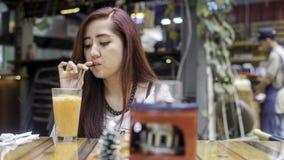 Cieszy się herbaty Zdjęcia Stock