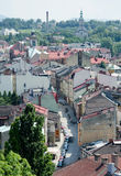 Cieszyn. Is the city in southern Poland royalty free stock photo
