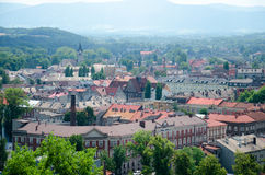 Cieszyn. Is the city in southern Poland royalty free stock images