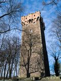 Cieszyn the piast tower. Piast tower in Cieszyn – a defence tower of the former castle of the dukes of Cieszyn on Castle Hill in Cieszyn, Poland one of royalty free stock image