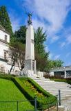 Cieszynska de Nike - memorial para lustrar legionários Silesian, Cieszyn, Polônia Foto de Stock