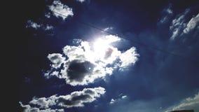 Cieux bleus Photos libres de droits