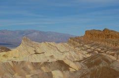 Cieux bleus de Death Valley photo libre de droits