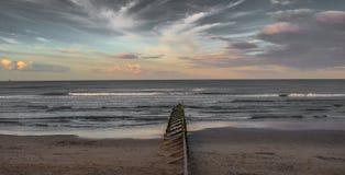 Cieux d'Aberdeen Photo libre de droits