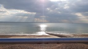 Cieux de Brighton photographie stock libre de droits