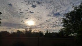 Cieux de l'Arizona Photo stock