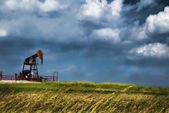 Cieux de prairie Images libres de droits