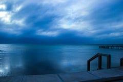 Cieux orageux Image libre de droits